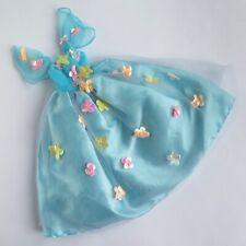 Barbie SONGBIRD BARBIE TURQUOISE DRESS 1995 #14320 Vintage Mattel Doll Flowers
