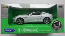 WELLY JAGUAR F-TYPE COUPE WHITE 1:34 DIE CAST METAL MODEL NEW IN BOX