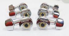 Acoustic Guitar Chrome Plated machine head Tuner peg 3R3L 134C-D02 Ratio 1:16