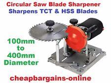 240V CIRCULAR SAW BLADE SHARPENER TUNGSTEN BLADE DIAMOND WHEEL GRINDER MACHINE