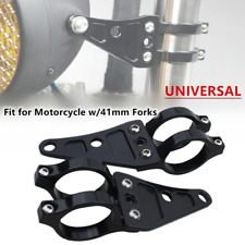 Universal 41mm Refitted Motorcycle Front Fork Headlamp Bracket Parts Mount Clamp