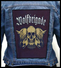 WOLFBRIGADE --- Giant Backpatch Back Patch