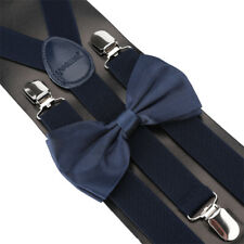 Quality SUSPENDERS and BOW TIE MATCHING SET Tuxedo Wedding Party Gift(US SELLER)