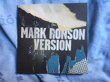 Mark Ronson - Version CD Promo