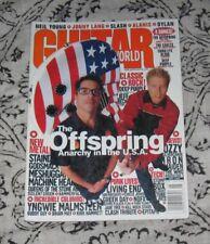 Guitar World 1999 magazine THE OFFSPRING Daniel Johns SLASH Jeff Beck