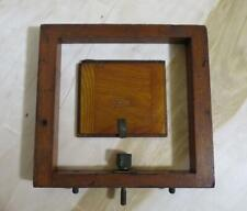 Rochester Optical Camera Company Wood Wooden Parts Cover & Adjustable Frame