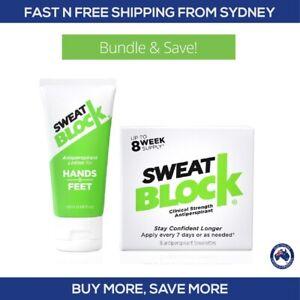 Sweat Block Antiperspirant Wipes and Lotion Discount Bundle - Sweatblock