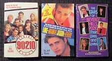 1991 BEVERLY HILLS 90210 Paperback LOT of 3 VF/VF- TV Tie-In