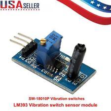 Vibration Sensor LM393 Switch Alarm Module Analog Output Sensitivity USA