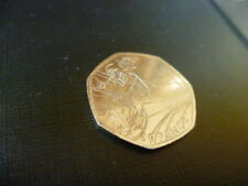 RARE CYCLING - LONDON 2012 OLYMPICS 50 pence coin / 50p - VERY COLLECTABLE
