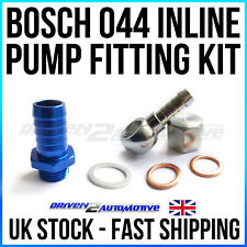 BOSCH 044 COSWORTH RS INLET FITTING AND OUTLET BANJO