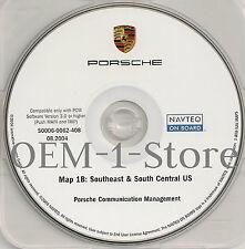 03 2004 PORSCHE CAYENNE S TURBO SPORT NAVIGATION MAP CD 1B SOUTHEAST S CENTRAL