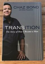 Transition The Story of How I Became a Man By Chaz Bono Hardcover Book + DJ
