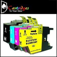 Premium Compatible XL Inkjet 4 Cartridge Set LC-73 / LC73 For Brother Printers