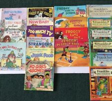 Lot of 20 Mixed Picture Books Mercer Mayer, Berenstain Bears, Froggy, Franklin