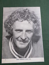 Geoff Merrick - Bristol City Player-1 Page Picture - Clipping/Cutting