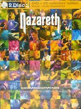 Nazareth: Homecoming - The Greatest Hits Live In Glasgow DVD & CD 2 SET CONCERT