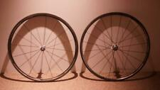 USED SHIMANO DURA ACE WH-7801 Carbon tubular road cyclocross wheels Japan F/S