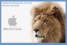 ⏩ MacOs Mac OS X 10.7.2 Lion USB Installer - Instant Delivery -Premium Download