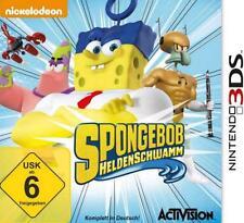Nintendo 3DS SPONGEBOB Schwammkopf HELDENSCHWAMM Neu
