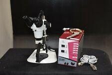 New listing Ax-Awm1 Dental Microscope Unit 10x/22 Halogen Magnification + Welding Machine