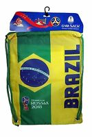 Brazil FIFA Official Russia 2018 World Cup Official Licensed Cinch Bag Brasil