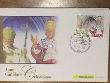 ITALIA FDC POSTE ITALIANE 2013- ANNO GIUBILARE CELESTINIANO