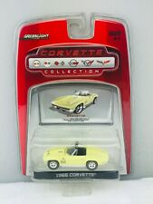 GreenLight Corvette Collection 1966 Corvette Yellow Blisterpack Limited NEW