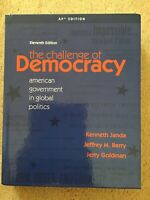 the challenge of democracy American government global politics AP edition 11