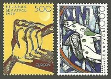 BELARUS 2006 BIRDS PENGUINS HORSES EUROPA CHILDS ART SET MNH