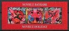 Azerbaijan 2018 MNH Novruz Holiday New Year 3v M/S Seasonal Cultures Stamps