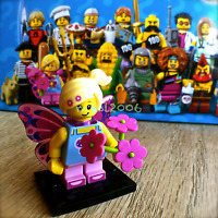 LEGO 71018 Minifigures SERIES 17 Butterfly Girl #7 Minifig SEALED fairy wings