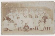 Caversham, School Group Real Photo Postcard, B307
