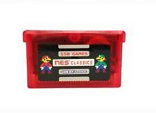 150 in 1 Nes Retro Games For Gameboy Advance Sp Classic Mario Zelda videogames