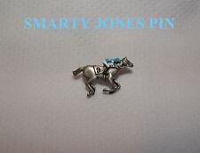 SMARTY JONES KENTUCKY DERBY PREAKNESS STAKES HORSE RACE JOCKEY SILKS PIN