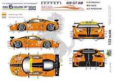 [FFSMC Productions] 1/32 Ferrari F458 GT AM 8Star Motorsports 6 H de SPA 2013