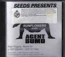 Agent Sumo-Sunflowers Promo cd single Jewel case