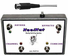 KoolKat's 4 Button Footswitch for Peavey Classic 212 4 Button