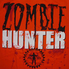 Zombie Hunter T-Shirt Medium Licensed All States Undead Apocalypse Horror Bloody