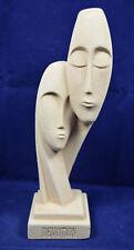Cycladic Art - Devotion Lover Figure - Handmade in Greece