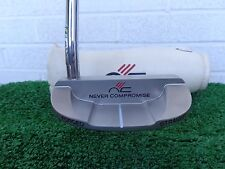 """Never Compromise Limited Edition Gambler Straight Forged 34"""" Milled Putter NEW"""