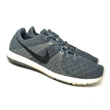 Nike Mens Flex Fury 705298-401 Wolf Gray Running Athletic Shoes Lace Up Size 9