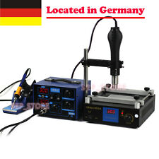 2 in 1 BGA Soldering Rework Station Hot Air + Iron + Preheat Station   GE