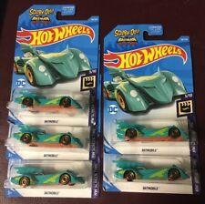 2019 Hot Wheels Screen Time 3/10 Batmobile & Scooby Doo 128/250 Lot of 5 Vhtf