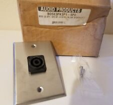 3 BOSE 3PKSPK1-SP2 SP-B NEUTRIK NL2MP Speaker Keyed Switch Faceplate Switchplate
