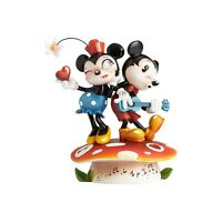 Disney The World Of Miss Mindy Mickey Mouse & Minnie Mouse Figurine NIB!