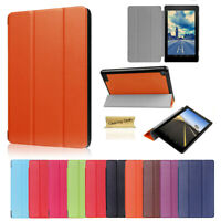 Shockproof Leather Stand Smart Sleep Wake Case Cover For Amazon Fire 7 HD8 HD 10