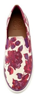 🌷🌷 Brand New Tory Burch Miles Canvas Slip-On Sneaker, Floral Size 5M🌷🌷