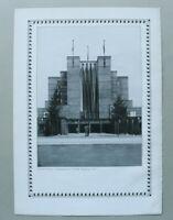 BB1) Architektur Johannes Göderitz 1928 Magdeburg Stadthalle Haupteingang 1927