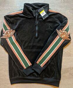 Nike Bv4043-010,  Air Jordan Embroidered 1/4 ZIP Grey, Size Small $125 NWT